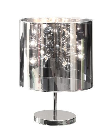 Zuo supernova table lamp chrome 50006 walmart canada mozeypictures Gallery