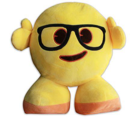 2951c688557 Emoji Glasses Standing Cushion