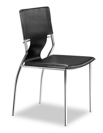 zuo trafico leather dining chairs walmart canada