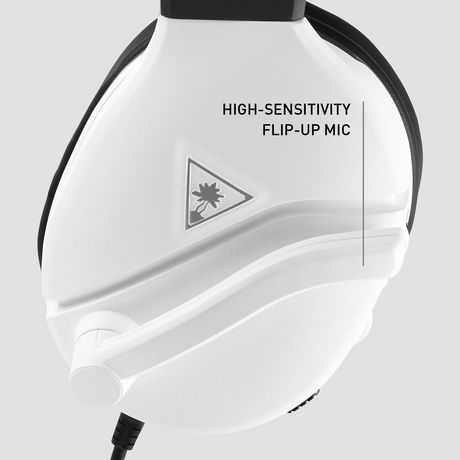 Turtle Beach® Recon 200 White Amplified Gaming Headset for Xbox One and PlayStation®4 - image 2 of 6