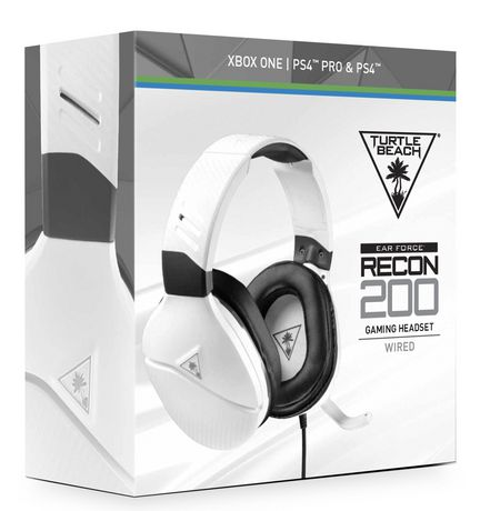 Turtle Beach® Recon 200 White Amplified Gaming Headset for Xbox One and PlayStation®4 - image 1 of 6