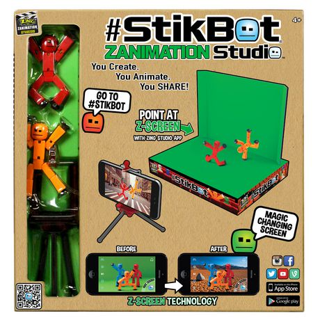 Stikbot 2-in-1 Zanimation Studio with Z Screen - image 1 of 2