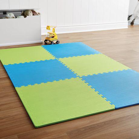 tapis embo tables mainstays en mousse. Black Bedroom Furniture Sets. Home Design Ideas