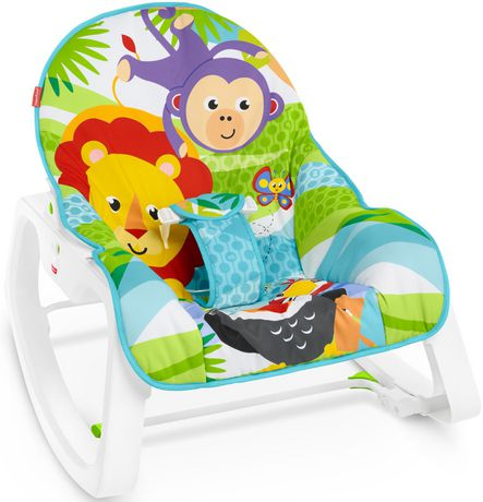 Fisher-Price Infant-to-Toddler Rocker - Green - Walmart Exclusive - image 6 of 9