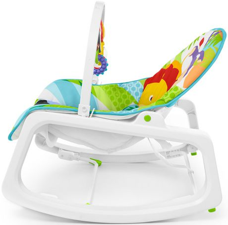 Fisher-Price Infant-to-Toddler Rocker - Green - Walmart Exclusive - image 8 of 9