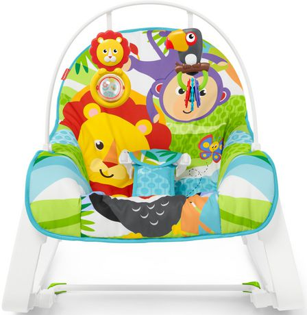 Fisher-Price Infant-to-Toddler Rocker - Green - Walmart Exclusive - image 7 of 9