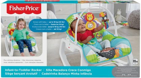 Fisher-Price Infant-to-Toddler Rocker - Green - Walmart Exclusive - image 9 of 9