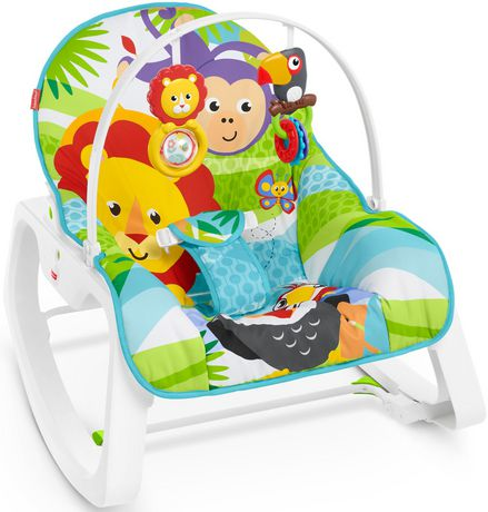 Fisher-Price Infant-to-Toddler Rocker - Green - Walmart Exclusive - image 1 of 9