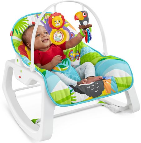 Fisher-Price Infant-to-Toddler Rocker - Green - Walmart Exclusive - image 2 of 9
