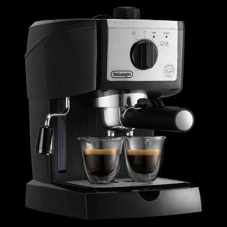 de 39 longhi ec155m 15 bar espresso and cappuccino machine. Black Bedroom Furniture Sets. Home Design Ideas