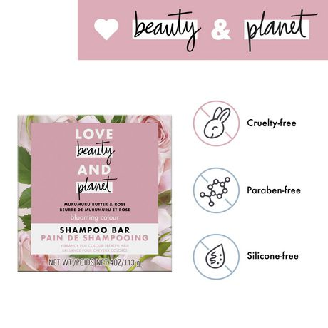 Love Beauty And Planet Shampoo Bar for colour treated hair Murumuru Butter Scent, vegan & paraben free 113 gr - image 4 of 8