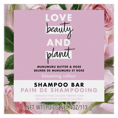 Love Beauty And Planet Shampoo Bar for colour treated hair Murumuru Butter Scent, vegan & paraben free 113 gr - image 1 of 8