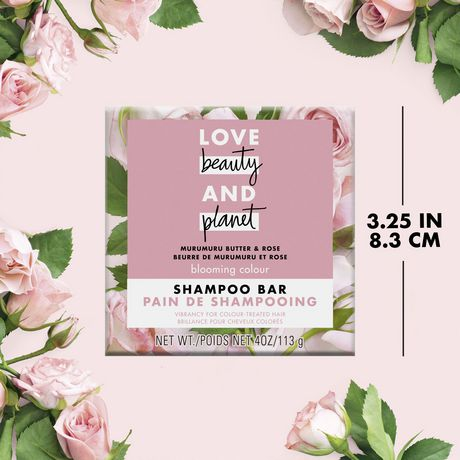 Love Beauty And Planet Shampoo Bar for colour treated hair Murumuru Butter Scent, vegan & paraben free 113 gr - image 7 of 8