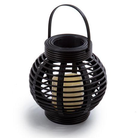 Truu Design 8.5-inch Rattan Lantern - image 1 of 3