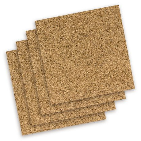 Quartet Natural Cork Tiles - image 1 of 1