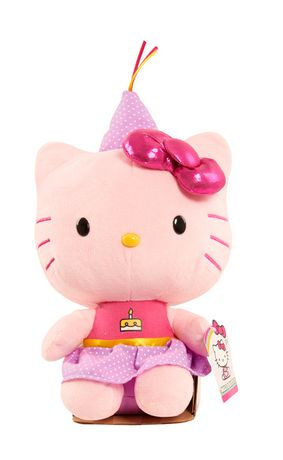 Hello Kitty Large Birthday Cake Plush Toy Walmart Canada
