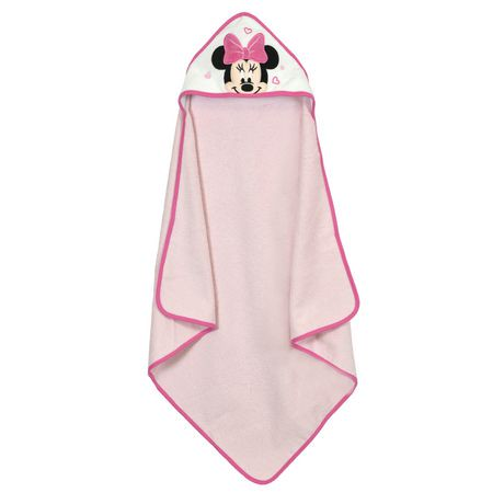 Disney Girls Minnie Mouse Hooded Towel Walmart Canada