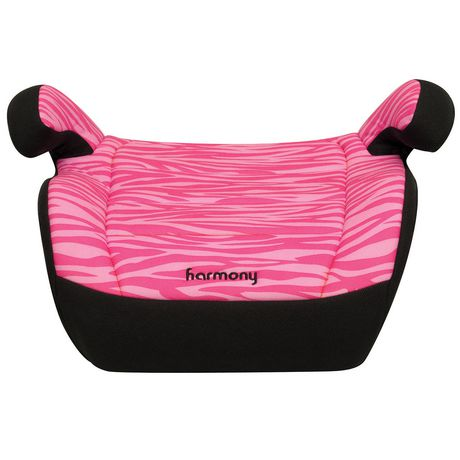 Harmony Youth Pink Zebra Booster Seat - image 2 of 5