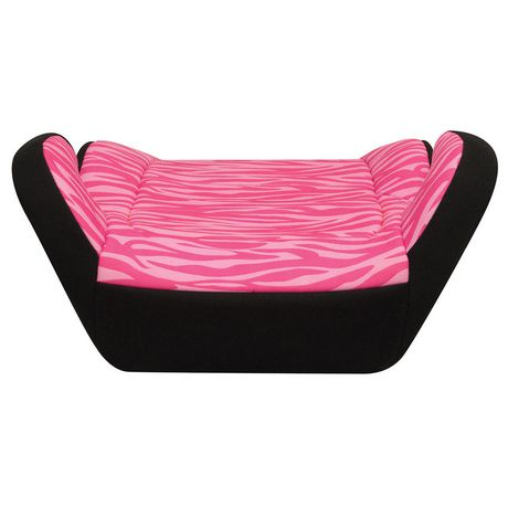 Harmony Youth Pink Zebra Booster Seat - image 4 of 5