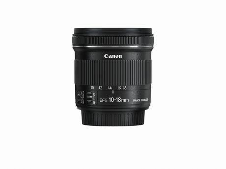 Canon EF-S 10-18mm f/4.5-5.6 IS STM Lens - image 1 of 2