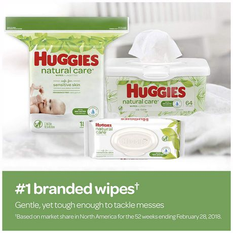 Huggies® Natural Care® Baby Wipes, Soft Pack 168 Ct - image 6 of 9