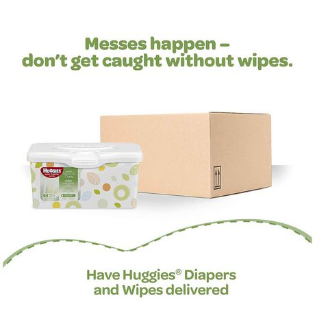 Huggies® Natural Care® Baby Wipes, Soft Pack 168 Ct - image 9 of 9