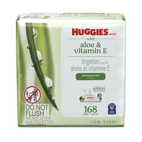 Lingettes pour bébés Huggies Natural Care - image 1 de 9
