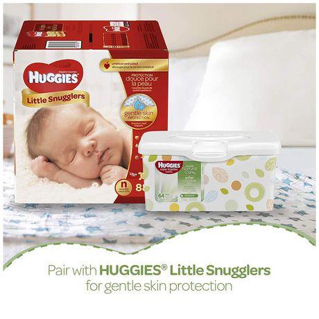 Lingettes pour bébés Huggies Natural Care - image 8 de 9