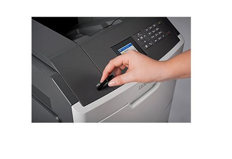 Imprimante laser monochrome mono fonction Lexmark MS817n (40GC100) - image 3 de 5