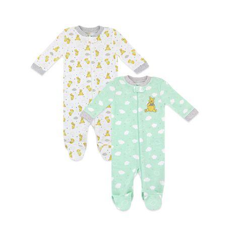 Disney Baby Winnie The Pooh Sleep N Play Sleepers Pack