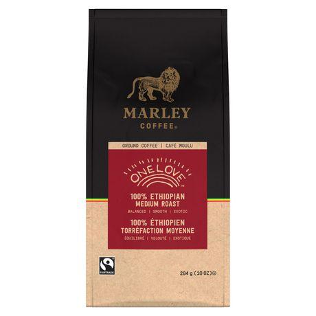 Marley Coffee One Love 100% Ethiopian Ground Coffee, Medium Roast, 284 Gram Bag - image 3 of 4