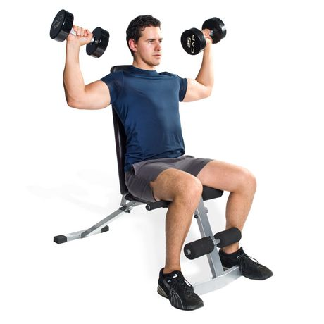CAP Barbell Flat/Incline/Decline Bench - image 3 of 4