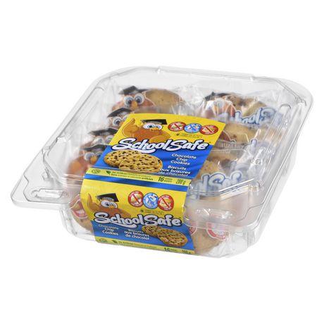 School Safe Chocolate Chip Cookies 8x2pk IW - image 1 of 4