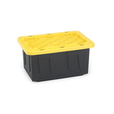 Durabilt 15 Gallon Tough Plastic Storage Tote Walmart Canada
