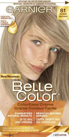 coloration permanente crme couleur facile pour cheveux belle color de garnier walmartca - Belle Color Blond Cendr
