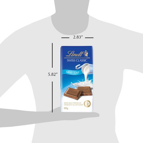 Lindt Swiss Classic Milk Chocolate bar - image 3 of 7