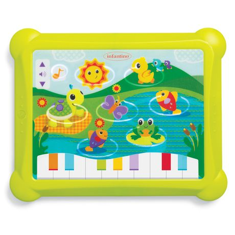 Infantino Lights & Sounds Musical Touch Pad - image 1 of 3