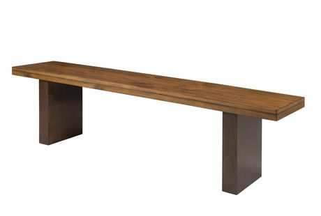 """Topline Home Furnishings Wooden 67"""" Bench - image 1 of 1"""
