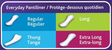 Equate Thin Pantiliner - image 4 of 4