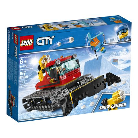 LEGO City Great Vehicles Snow Groomer 60222 Building Kit (197 Piece) - image 2 of 5