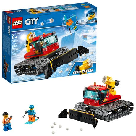 LEGO City Great Vehicles Snow Groomer 60222 Building Kit (197 Piece) - image 1 of 5