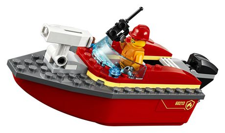 LEGO City Dock Side Fire 60213 Building Kit (97 Piece) - image 4 of 6