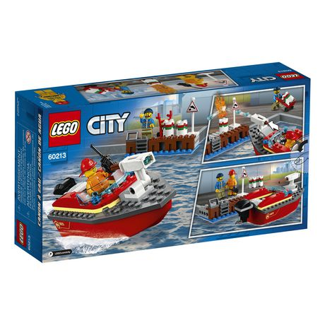 LEGO City Dock Side Fire 60213 Building Kit (97 Piece) - image 6 of 6