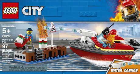LEGO City Dock Side Fire 60213 Building Kit (97 Piece) - image 5 of 6