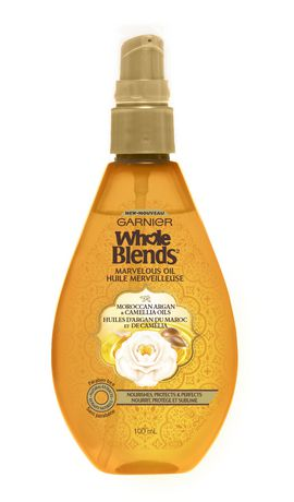 Garnier Whole Blends Marvelous Oil with Moroccan Argan & Camellia Oils. Paraben-Free, 100 ml - image 1 of 1