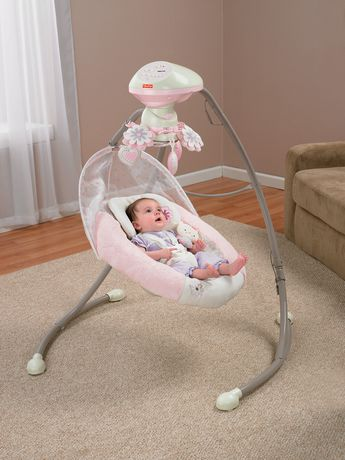 Fisher Price My Little Sweetie Deluxe Cradle Swing
