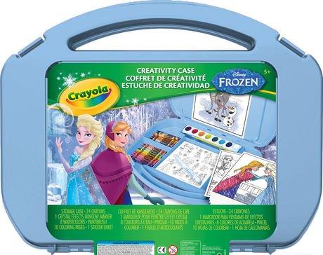 Crayola creativity disney frozen case - Maletas infantiles toysrus ...