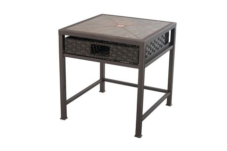 Meubles de patio antigua de sunjoy ens table d 39 appoint for Table exterieur walmart