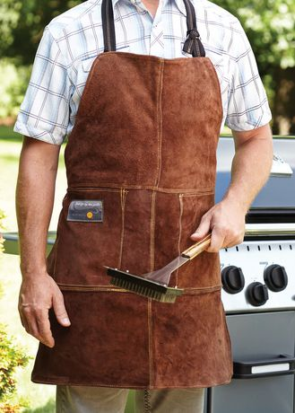 Outset Leather One Size Grill Apron - image 2 of 2