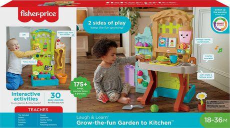 Fisher Price Laugh Learn Grow The Fun Garden To Kitchen Bilingual Edition Walmart Canada